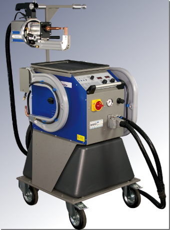 Analog controlled mobile spot welding machine ELMAspot T.