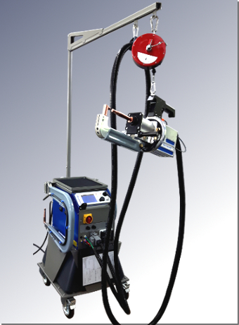 ELMA-Tech spot welding machine ELMAspot VISION with Balancer Kit