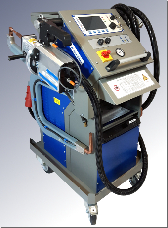 Fully automatic spot welding machine PREMIUMspot VISION by ELMA-Tech